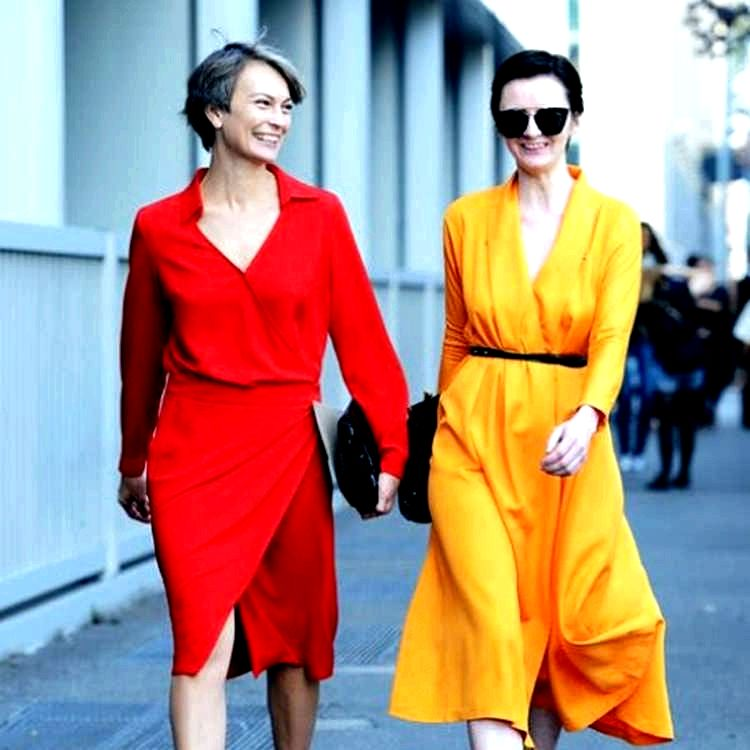 d682c5e6ea20e2 Як одягатися повним жінкам за 40, 45, 50, 60 років. - Корисні поради